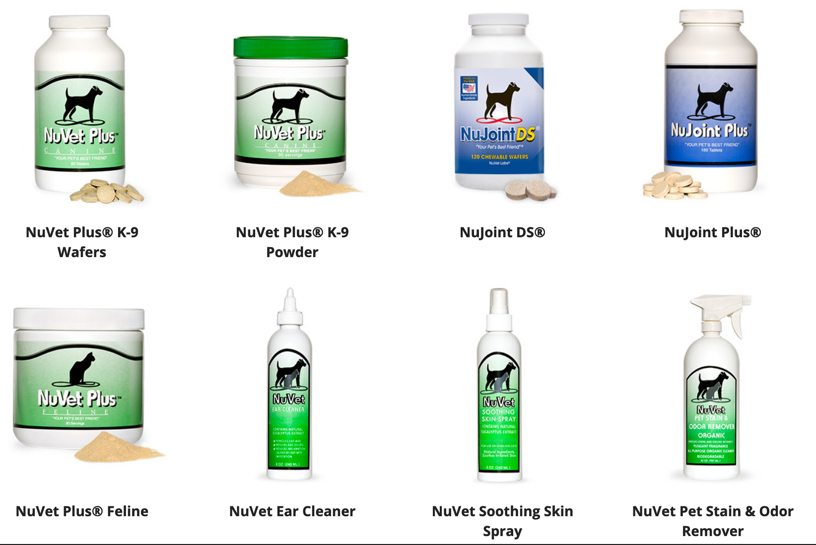 NuVet Products